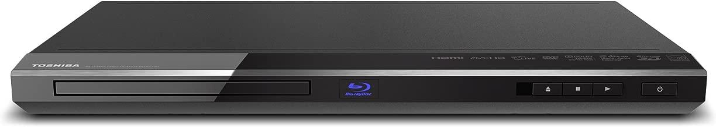 Toshiba BDX4150 Wi-Fi Ready 3D Blu-ray Disc Player - Black