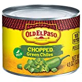 GREEN CHILES: Chopped green chilies, perfect topping for soft tacos, burritos, fajitas, and quesadillas. MEXICAN STYLE ENTREES: Spice up your Mexican dinner or any of your favorite meals. QUICK AND EASY: Use in dips or a topping on tacos, nachos, bur...
