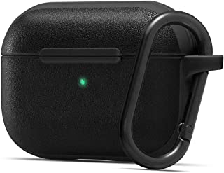Spigen Cyrill [Leather Brick Series] Compatible with Apple AirPods Pro Cover case - Black
