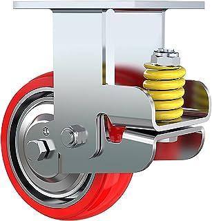 Zwenkwielen voor zwenkwielen, industriële premium zwenkwielen voor zwaar gebruik, wielen van polyurethaanschuim Geluidsar...