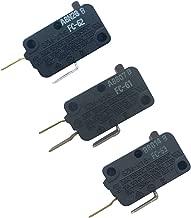 LONYE W10727360 & W10269458 & W10269460 Microwave Switch for for Whirlpool Microwave SZM-V16-FC-61 SZM-V16-FC-62 SZM-V16-FC-63