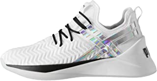 Official Brand Puma Jaab XT Iridescent Trailblazer Womens Running Shoes White/Black Trainers