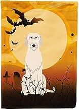 Caroline's Treasures BB4331CHF Halloween Irish Wolfhound Canvas House Size Flag, Large, Multicolor