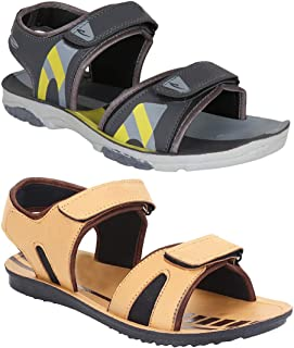 Zenwear Combo Pack of 2, Men Sandals and floaters