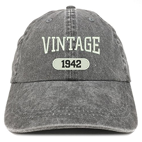 Embroidered 80th Birthday Cap