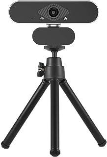 غطاء كاميرا الويب Webcam Full HD 1080P Webcam For PC Computer, 2MP USB Webcam With Microphone, Widescreen For Video Work T...