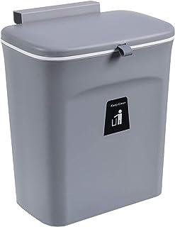 FLAMEER Poubelle de Cuisine Armoire Porte Poubelle Poubelle Peut Suspendre Grand Poubelle de déchets pour Armoire de Cuisi...