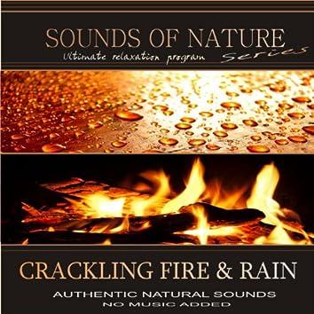 Crackling Fire & Rain