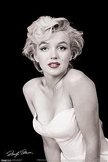 Pyramid America Marilyn Monroe Red Lips Hollywood Sex Symbol Actress Legend Photograph Photo Cool Wall Decor Art Print Poster 12x18