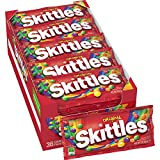 Skittles, Original, Box of 36 Individual Packs (2.17 oz each), New and Unopened