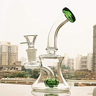 Glass Art Special-Shaped 7 Inch Tall Join 14MM Green