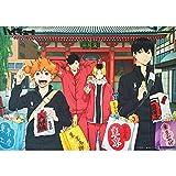 YWOHP 1000 pièces Puzzles en Bois 50x75cm Haikyuu Personnages d'anime Japonais en Bois Puzzles Jouet Jeux éducatifs GIF