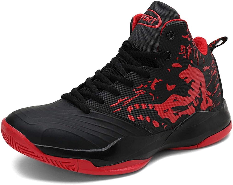 herr Basketball skor skor skor High -Top utomhus skor springaning Tränare Sport Athletic skor  spännande kampanjer