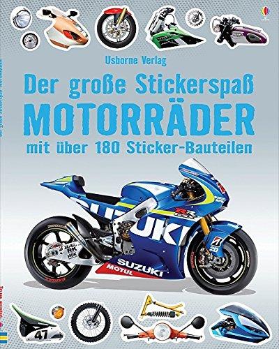 Der große Stickerspaß: Motorräder