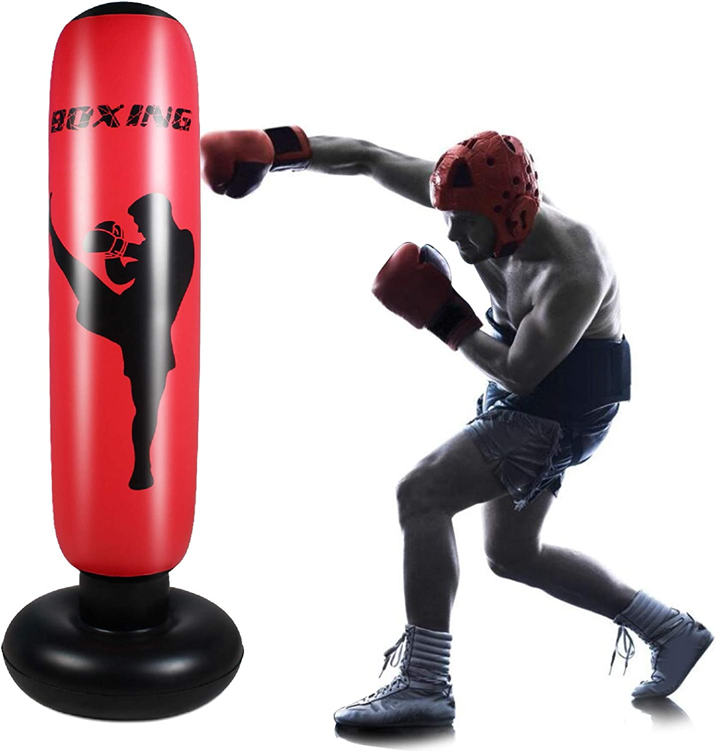 Ruiqas Inflatable Punching Topics on TV Bag 67 F Home Over item handling ☆ Fitness inch Boxing