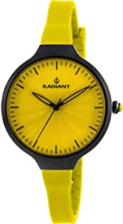 Radiant new sunny Womens Analog Quartz Watch with Silicone bracelet RA336613
