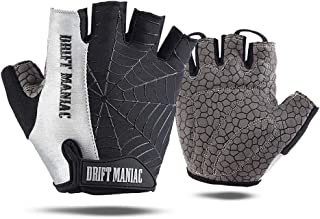 DRIFT MANIAC Half Finger Cycling Gloves As Spider for Riding Outdoors