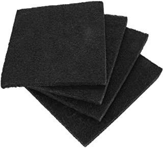 4Pcs Cat Litter Boxes Charcoal Filter Activated Carbon Deodorant Pad Filter Mat for Home Garden Hooded Litterbox