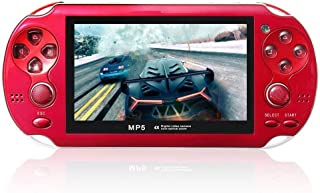 Gutobala 4.3inch Screen Game Console 8GB Memory Free Games Portable MP5 Game Player with Digital Video Camera Built-in Mic...