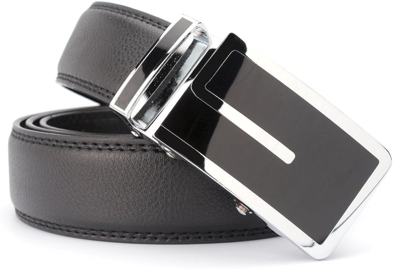 MinYuocom PD31 Minneapolis Mall Series Men's Automatic Leather Ratchet Brand Cheap Sale Venue Belt
