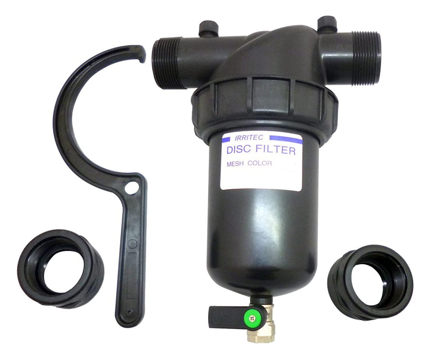 伝染病バレル継続中イリテック ディスクフィルター 1 1/2 (40mm) 200# FA-1315-200