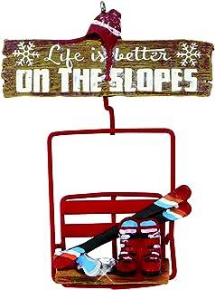 Kurt Adler Ski Lift Hanging Ornament