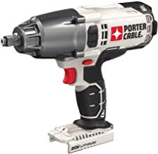PORTER-CABLE 20V MAX Impact Wrench, 1/2-Inch, Tool Only (PCC740B)