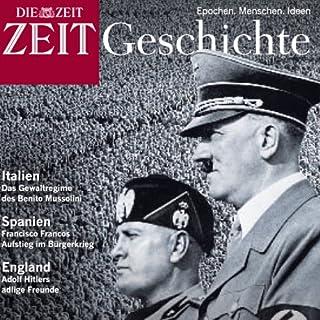 Europas Weg in den Faschismus (ZEIT Geschichte) Titelbild