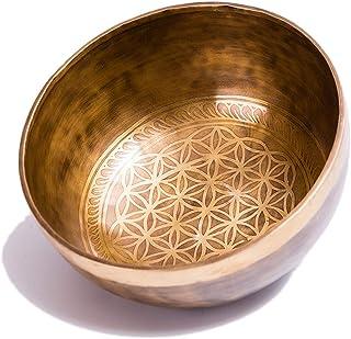 Buddhism Copper Singing Bowl Nepal Handmade Yoga Meditation Buddha Sound 15CM Metal Crafts