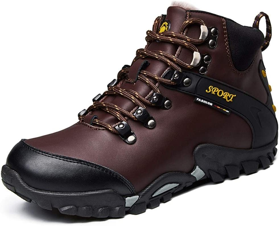 Men's Hiking Boots Weekly update Purchase Outdoor Synthetic Shoes Leath Sports