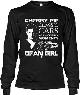 Supernatural - Dean Winchester Cherry Pie Long Sleeve t-Shirt