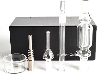 YF420 Kit 1.0 con Cristal Titanio néctar de uñas uñas de Titanio de tuberías 10 mm Cristal Fumar Accesorios