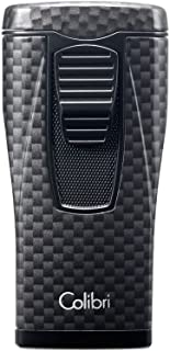 Colibri Monaco Triple Flame Lighter - Carbon Fiber Print