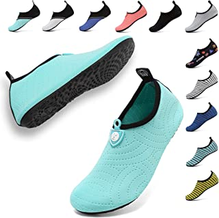 Unisex Quick Drying Aqua Water Shoes Pool Beach Yoga Exercise Shoes for Men Women