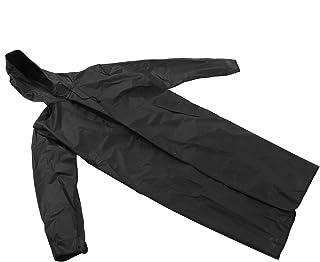Eulbevoli Vêtements de Pluie, imperméable de Camping Respirant Manteau de Pluie à Capuche Boutons réglables pour l'équitat...
