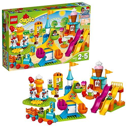 LEGO DUPLO Ma ville - Le parc d'attractions - 10840 - Jeu de...