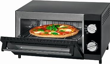 Mini four à pizza avec fonction grill et chaleur supérieure et inférieure Mini-four multi Four à pizza 12 litres (puissanc...