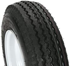 Loadstar by Kenda Trailer Tire/Wheel Assembly - 6-Ply Rated/Load Range C - 4.80/4.00-8 - 4 Hole Rim 30040