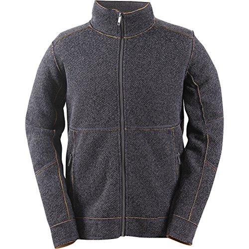 2117 of Sweden Herren Wool-Like Jacke Tranum, Grey Melange, XXL