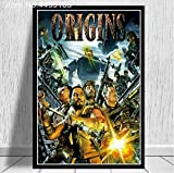 LGXINGLIyidian Carteles E Impresiones Call Duty Black Ops Zombies Game Poster Wall Art Picture Canvas Painting Modern Decoration Uo1222 40X50Cm