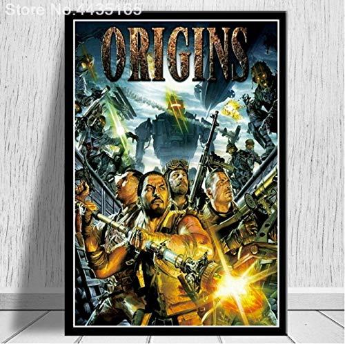 LGXINGLIyidian Poster Und Drucke Call Duty Black Ops Zombies Spiel Poster Wandkunst Bild Leinwand Gemälde Moderne Dekoration Uo1222 40X60Cm