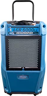 Dri-Eaz 6000 Commercial Dehumidifier with Pump, Industrial, Durable, Portable, Blue, F600, Up to 25 Gallon Water Removal per Day