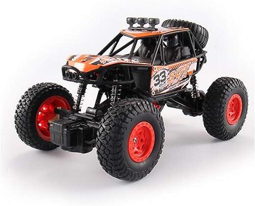 ventas en linea Siyushop Siyushop Siyushop Vehículo de Control Remoto 4WD Off Road Rock Crawler 2.4 GHz, Control Remoto Bigfoot Vehículo Todo Terreno, Control Remoto de Alta Velocidad de Juguete de Coches (Color   naranja)  diseño simple y generoso