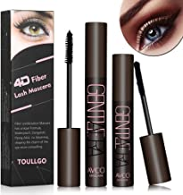 4D Silk Fiber Lash Mascara, Fiber Lash Mascara Waterproof, Natural Fiber Mascara For Thickening & Lengthening Your Lashes, Waterproof, Smudge Proof, Long-Lasting