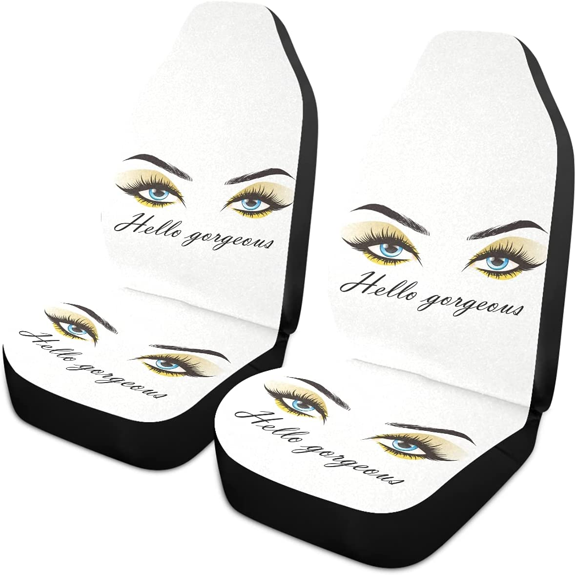 Oarencol Hello Gorgeous Excellent Car Seat Eyelash Covers Women Store Eyes Golde