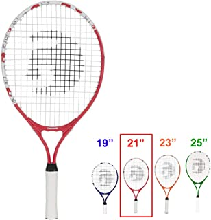 Gamma Sports Junior Tennis Racquet: Quick Kids 19 Inch Tennis Racket - Prestrung Youth Tennis Racquets for Boys and Girls ...