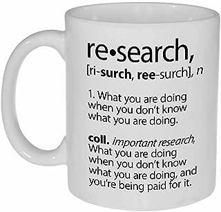 Research Definition Funny Coffee or Tea Mug