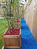 RockinColour Dekosteine für den Garten, Azurblau - 2