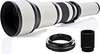 JINTU 650mm-2600mm f/8スーパー望遠ズームレンズにとってペンタックスPentax K-m K-x K-r, K-01, K-3, K-5, K-5 II, K-5 IIs, K7, K-R, K10D, K20D, K-30...