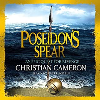 Poseidon's Spear audiobook cover art